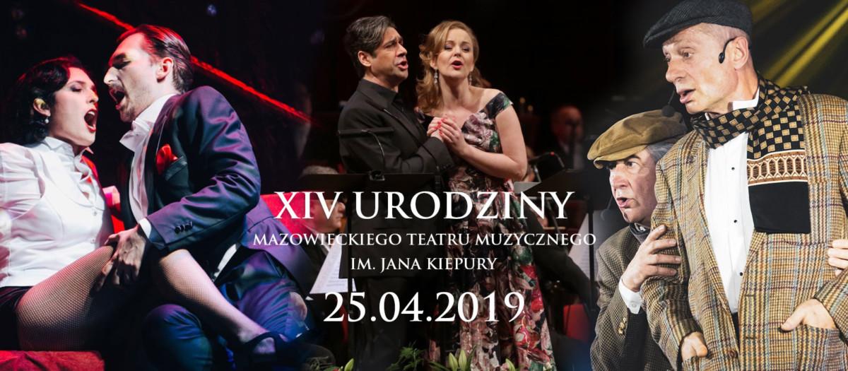 XIV urodziny Mazowieckiego Teatru Muzycznego